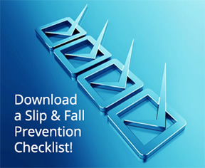 Download the Slip & Fall Prevention Checklist PDF