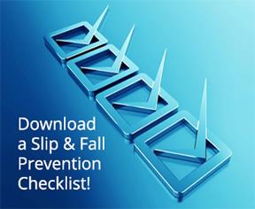 Download the Slip & Fall Prevention Checklist PDF